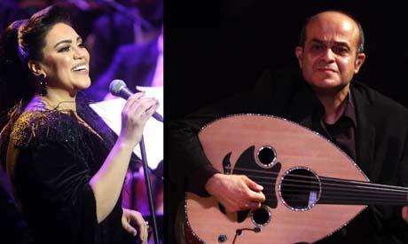 Maye Farouk and Bassem Darwish