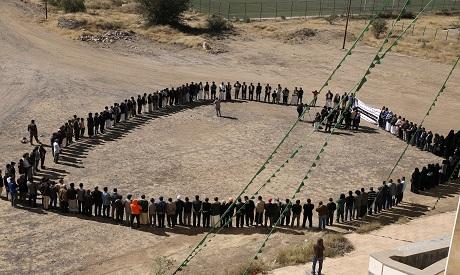 Vigil for Hassan Zaid