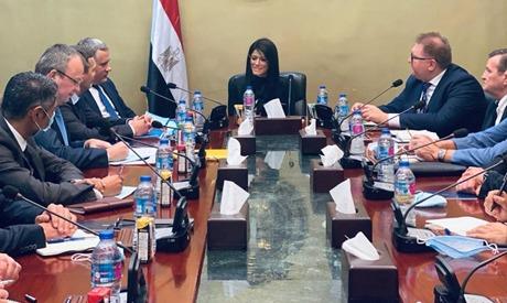 Al-Mashat- Ukraine delegation