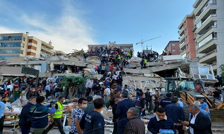 Strong earthquake strikes Aegean Sea, shaking Turkey, Greece REUTERS
