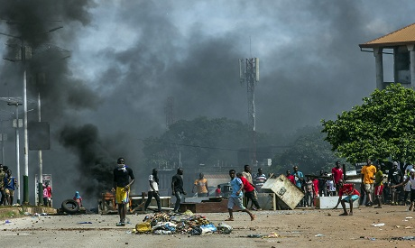 Guinea protests AP Photo
