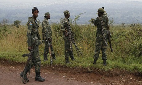 oldiers from the Democratic Republic of Congo . REUTERS