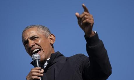 Former U.S. President Barack Obama . Reuters