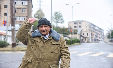 A man in Stepanakert