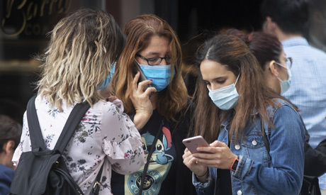 Coronavirus outbreak in Spain. (File Photo: Reuters)