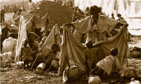 Ethiopians refugees in Sudan