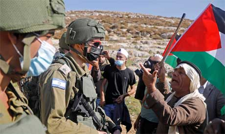 The occupied West Bank. Reuters