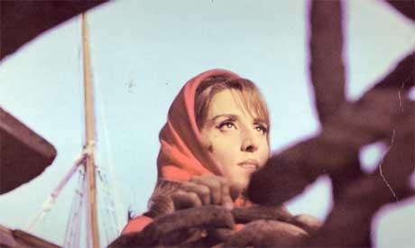 Fairuz at Beirut Port, 1968.