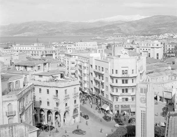 Beirut overlooking in 19850