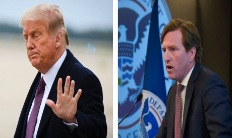 Donald Trump and Chris Kerbs