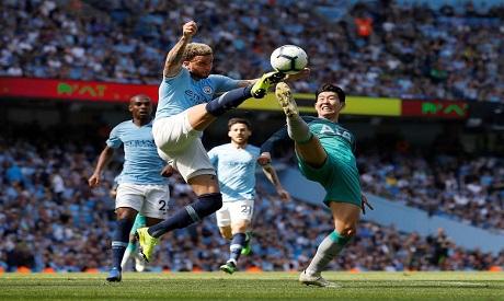 Man City v Tottenham Hotspur
