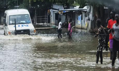 Floods in South Sudan