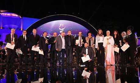 Honorees of the Arab Music Festival and Conference
