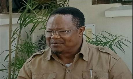 Tanzanian opposition presidential candidate Tundu Lissu