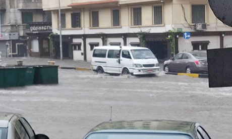 Rain in Alexandria