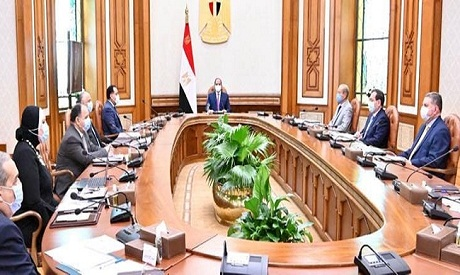 El-Sisi during the meeting