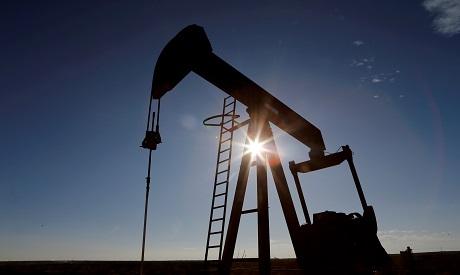 A crude oil pump
