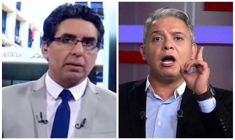 Mohamed Nasser and Moatez Matar (Photo: Ahram Online )