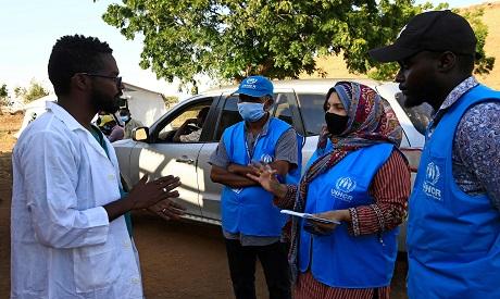 Ethiopian Refugee in Sudan