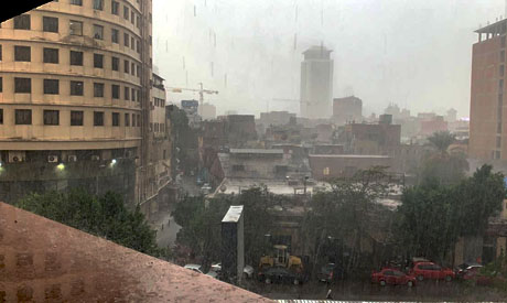 Rainfall in Egypt
