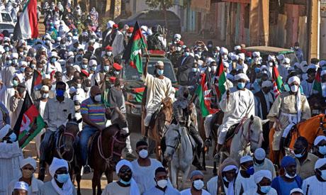 Sadiq Al-Mahdi funeral
