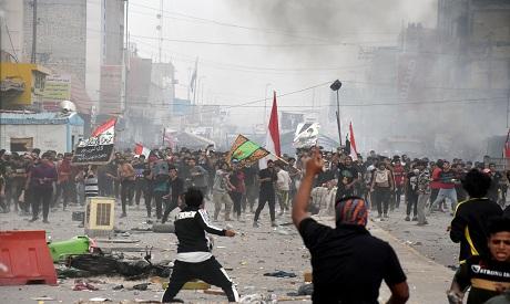 Iraq clashes 27 November Reuters