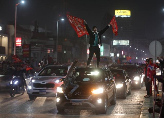 Cairo turns Red