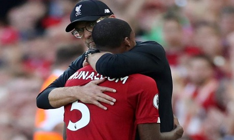Liverpool boss Jurgen Klopp optimistic about Gini Wijnaldum's future