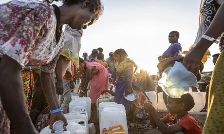 Ethiopian Refugees in Sudan