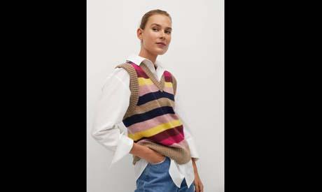 Knit sweater vests