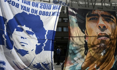 Flags of Diego Maradona