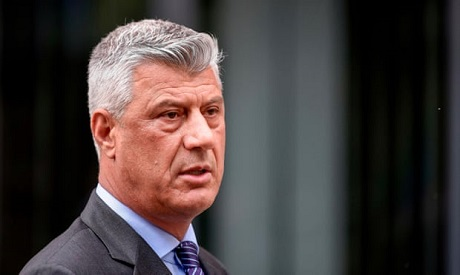 Kosovo President Thaci resigns, to face trial for war crimes