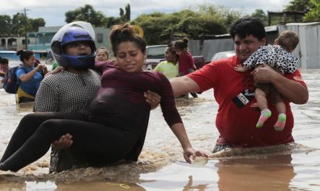 Hurricane Eta in Planeta, Honduras