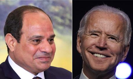 Sisi, Biden