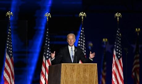 US President-elect Joe Biden delivers remarks in Wilmington, Delaware Reuters
