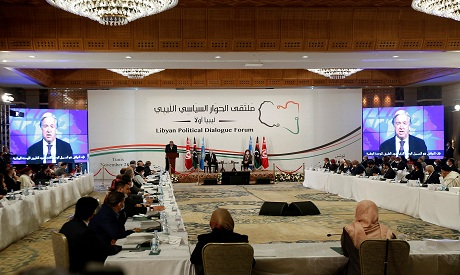 Libyan Political Dialogue Forum in Tunisia November 9, 2020. REUTERS