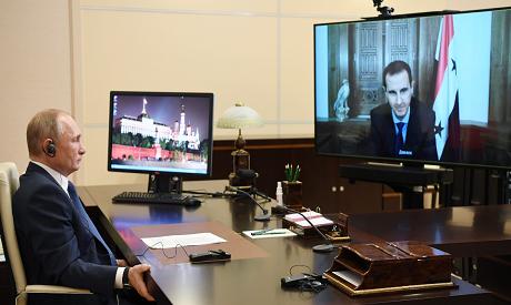 Putin, Al-Assad