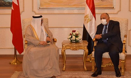 Egyptian and Bahraini FMs meet in Cairo