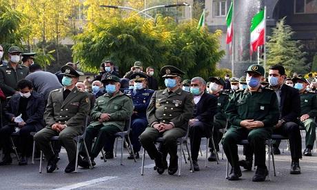 Iran military commanders
