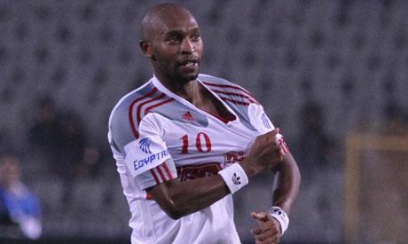 "Zamalek forward Mahmoud Abdel-Razek ""Shikabala"""