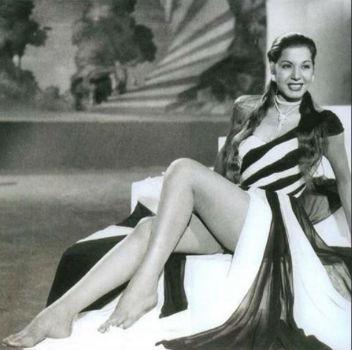 Samia Gamal (Photo: Al Ahram)
