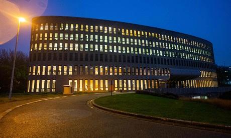 VUB university building in Brussels