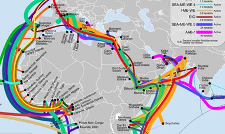 Internet bypassing Egypt