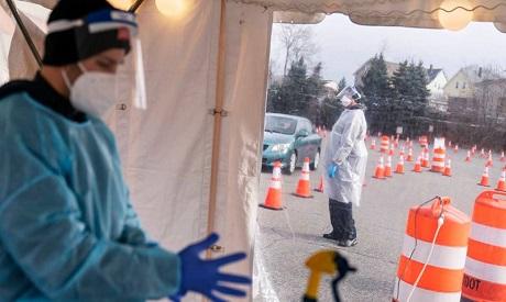 Historic U.S. COVID vaccine campaign launches with convoy of trucks