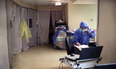 Covid: Intensive Care Unit in Chicago, Illinois AFP