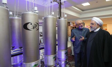 Iranian President Hassan Rouhani AFP