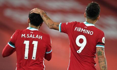 Salah and Firmino