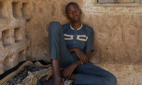 Nigerian kidnapped student
