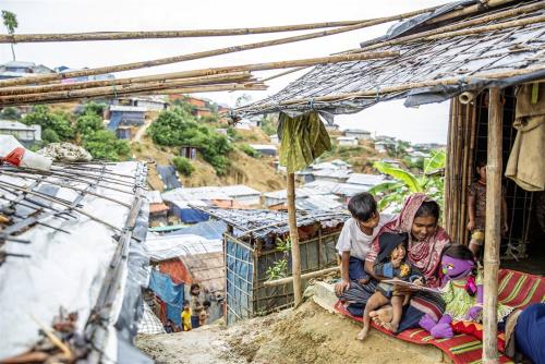 Sesame Street in Rohingya