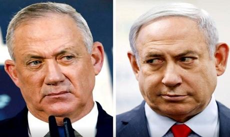 Gantz, Netanyahu